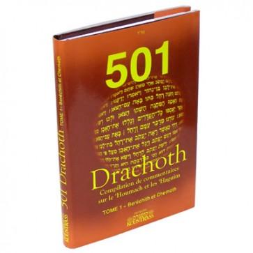 501 Drachoth - tome 1 - Béréchit et Chemoth