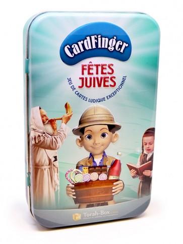 """Jeux de cartes """"Fêtes Juives"""" (CardFinger)"""
