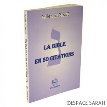 La Bible en 50 citations
