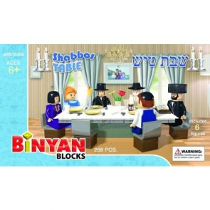 Binyan Blocks - Table de Chabbat