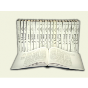 Le Talmud - Edition Steinsaltz -Bilingue Hébreu-Français 40 Vol.