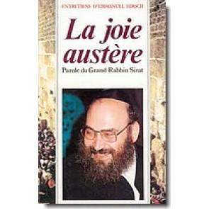 La Joie austère Parole du Grand Rabbin Sirat
