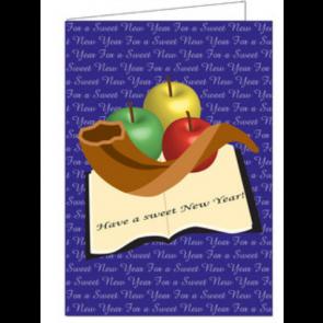 Cartes de Chana Tova / Nouvel An. 8 Cartes et enveloppes