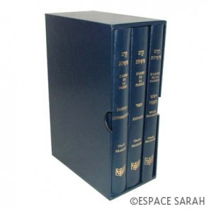 L'arme de la parole - Roch Hachana Yom Kippour Prières journalières  Bleu