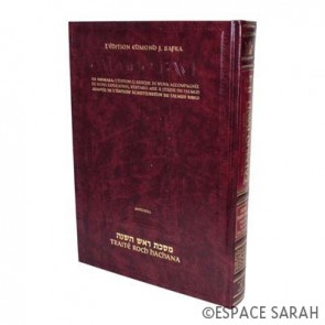 Talmud Bavli - Artscroll 18 - Traité Roch Hachana