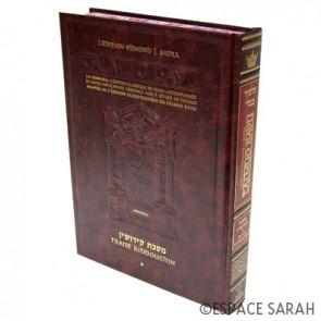 Talmud Bavli - Artscroll 36 - Traité Kiddouchin Vol. 1