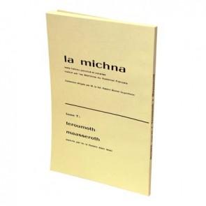 La Michna - Tome VII : Teroumot - Maasserot