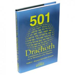 501 Drachoth - tome 2 - Wayiqra, Bamidbar et Devarim