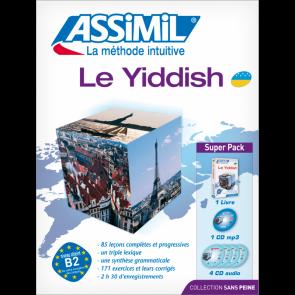 Le yiddish (superpack) Sans Peine - (A1-A2) Débutant & Faux-débutant